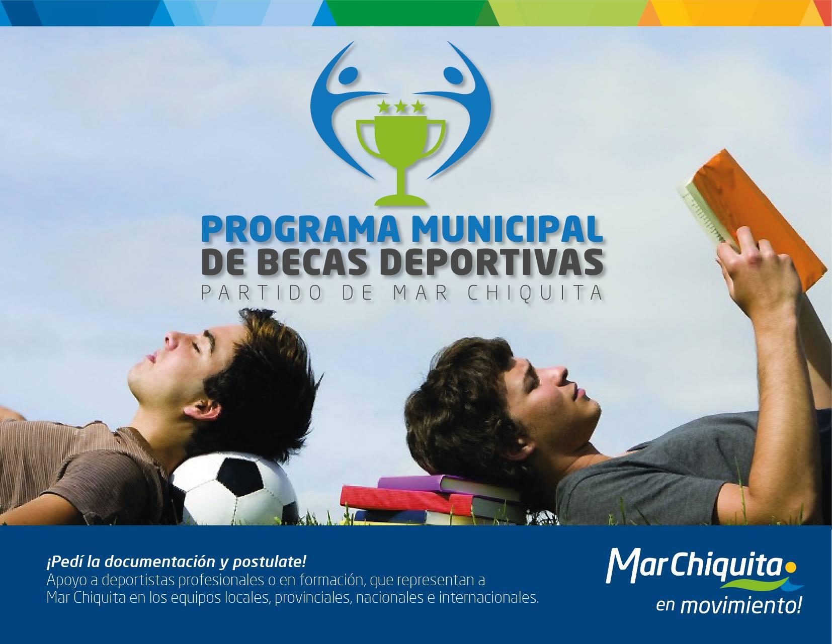 Nuevo programa municipal de becas deportivas