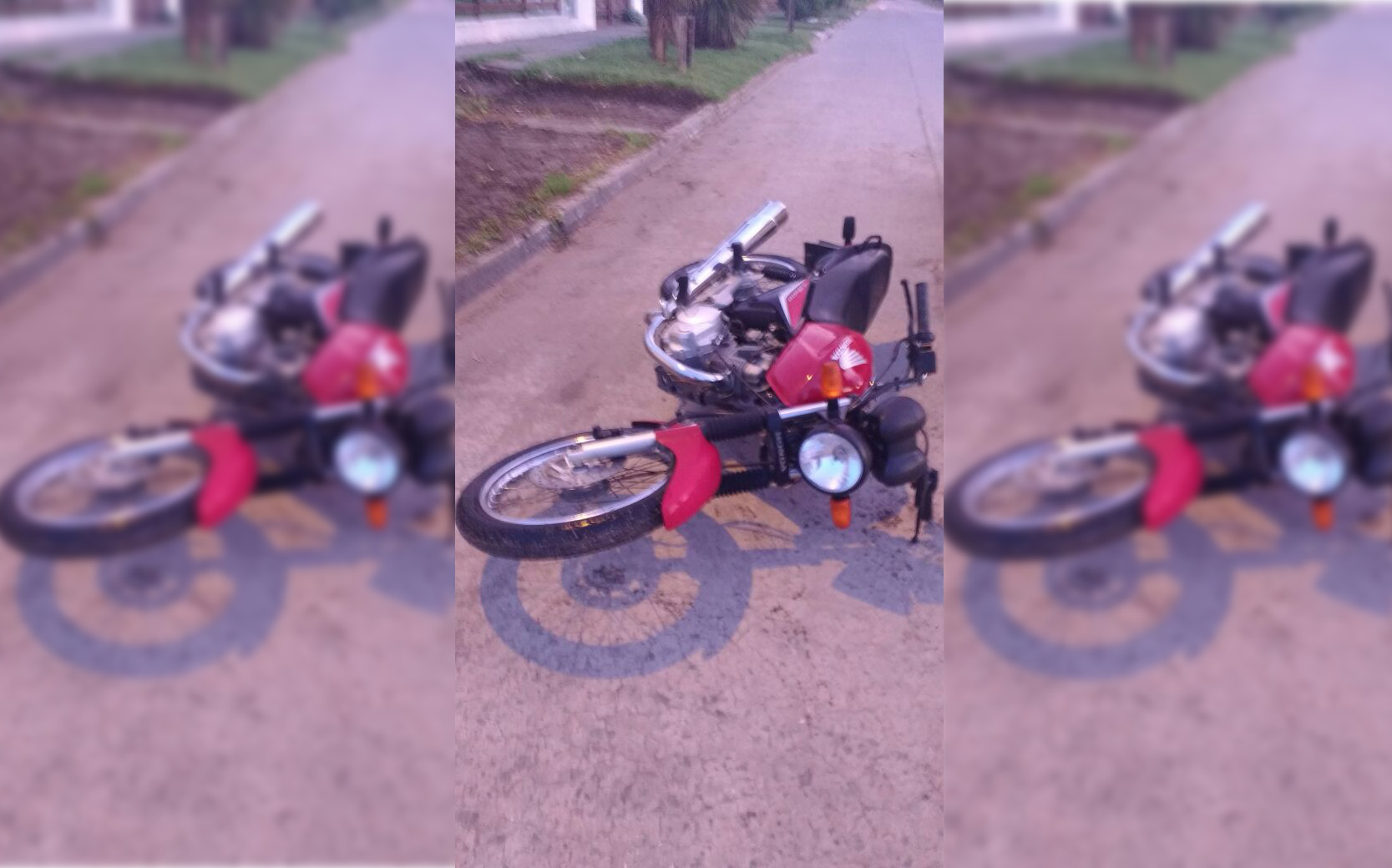 Malvivientes quisieron robarle la moto pero se resistió y la recuperó