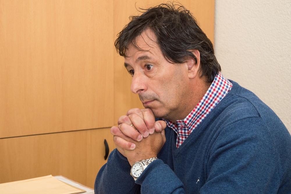 Flores se solidarizó con Scala en el HCD y un asesor de Ronda lo fue a buscar para increparlo