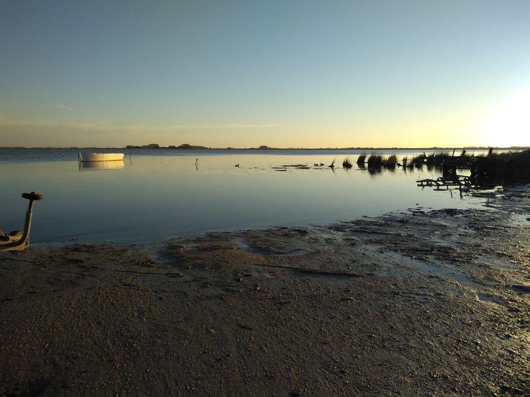 """Pesca de Pejerrey en el """"Recreo Juan y Juan"""", Laguna de Mar Chiquita"""