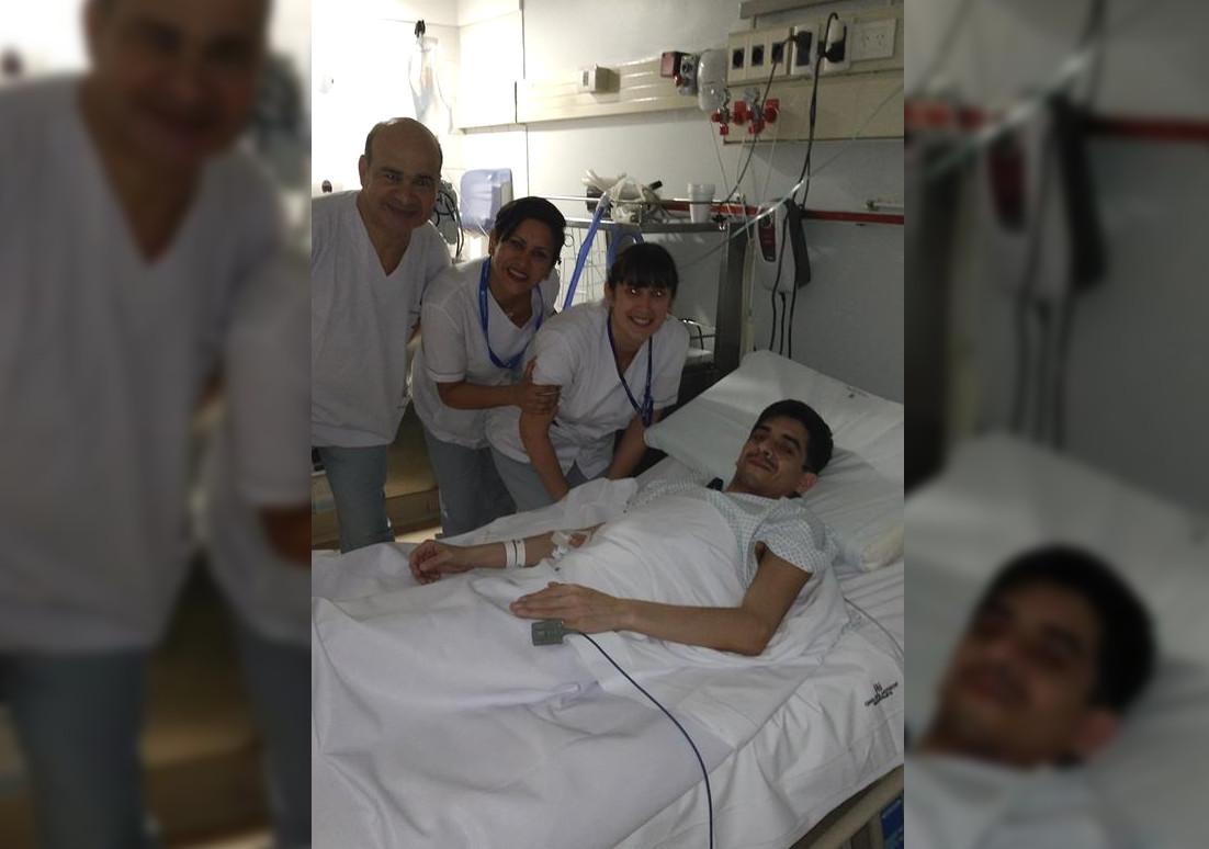 """""""FELICIDAD ABSOLUTA, DONEN POR FAVOR"""": Las palabras de Pablo Calvo, a pocos días de haber recibido un trasplante bi pulmonar"""