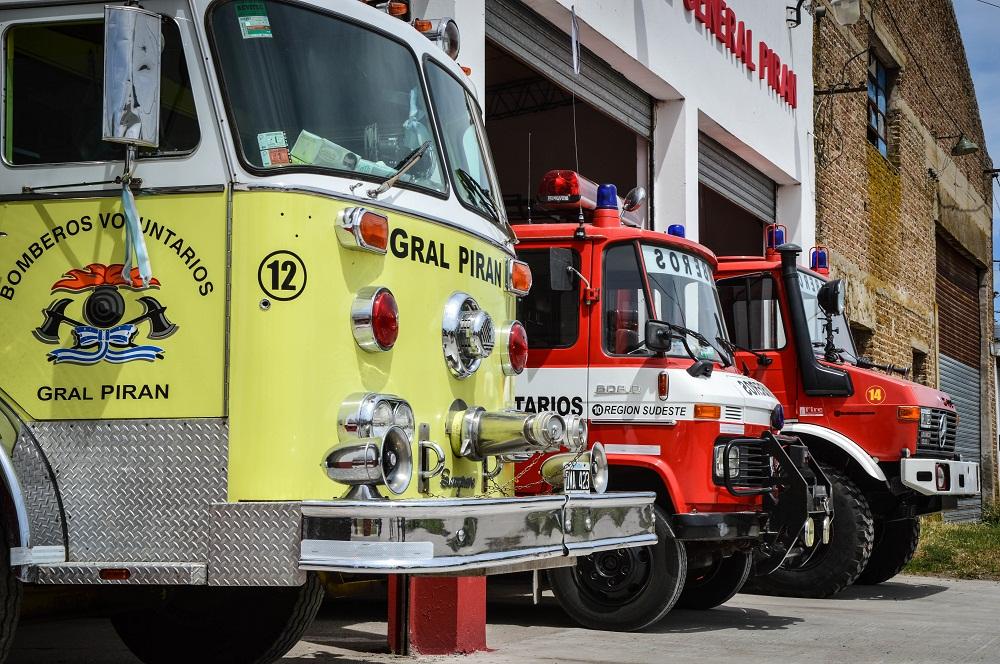 Gral Piran: Despistó un auto anoche en el km 325