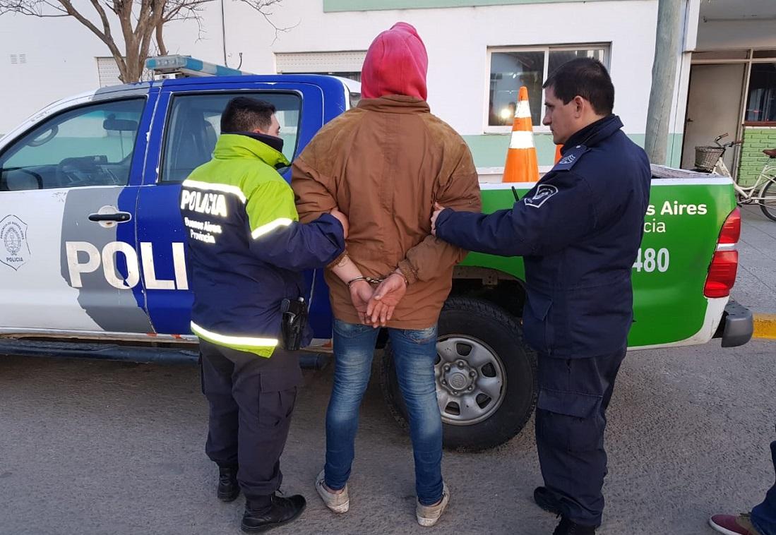 CNEL VIDAL: Detuvieron a un sujeto tras un doble allanamiento por robo