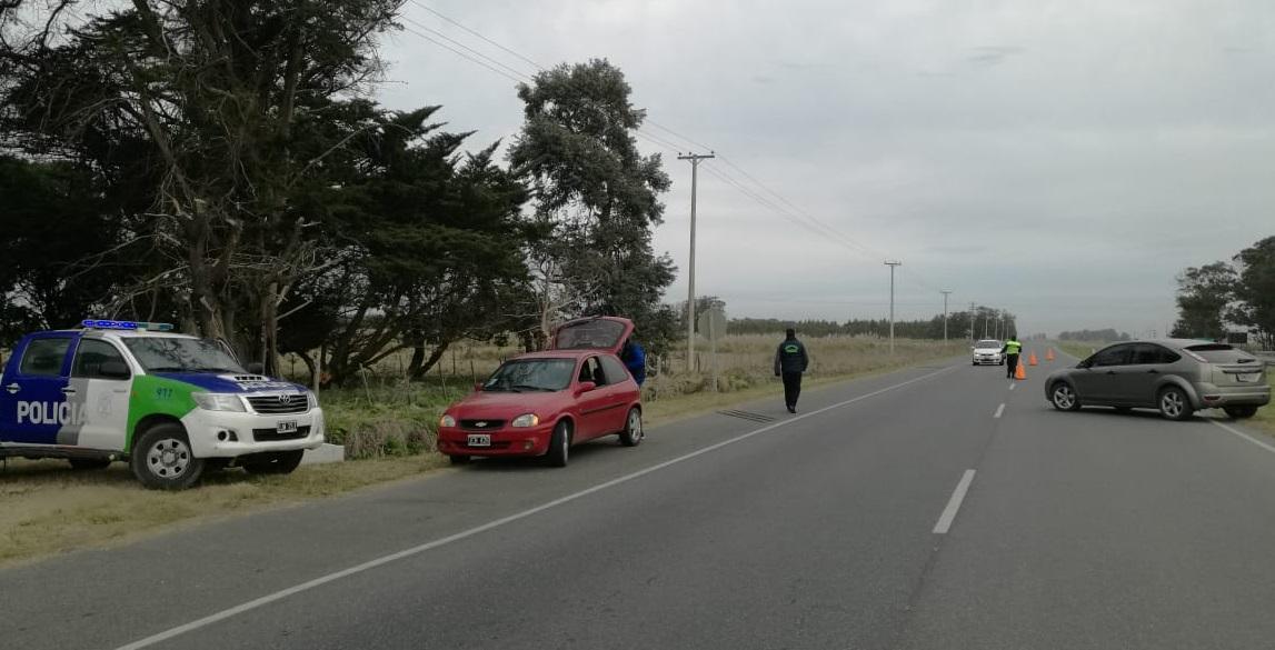Secuestraron estupefacientes en un operativo en el acceso a Mar Chiquita por Ruta 11
