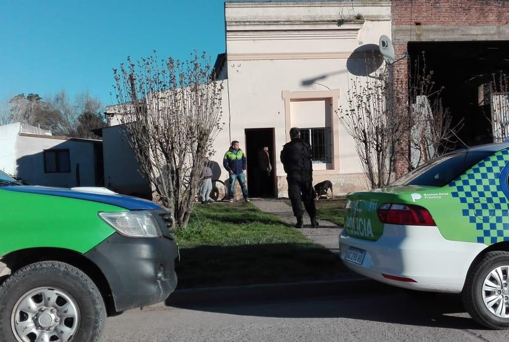 CNEL VIDAL: allanamiento positivo tras una gresca que terminó con un herido de arma blanca