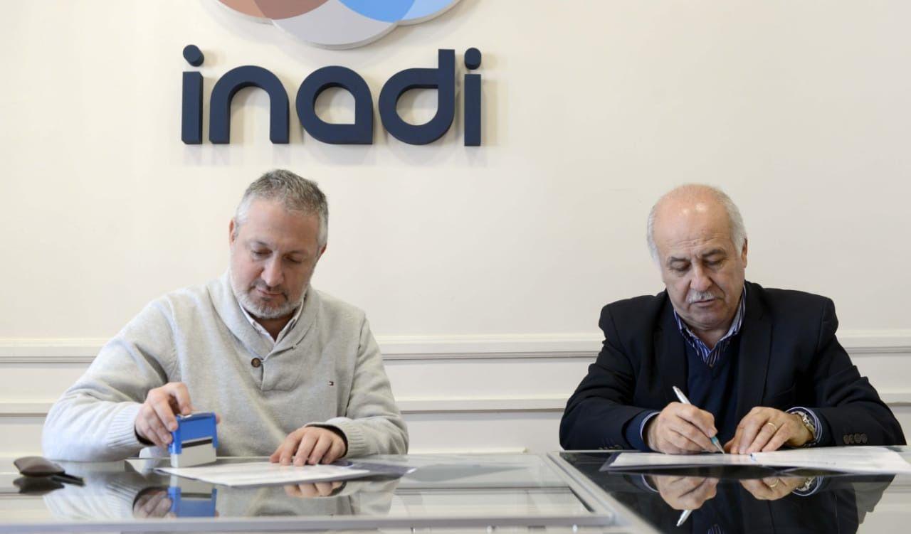 Ronda firmó un convenio con el Inadi