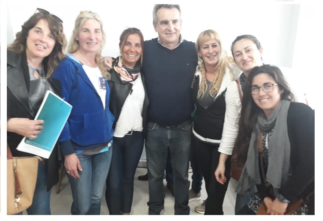 La concejal Andrea Lezcano, junto a mujeres marchiquitenses, participó de un encuentro regional en el Partido de La Costa
