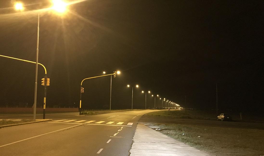 Colocarán iluminacion LED en las Rutas 11 y 2 en su paso por Mar Chiquita