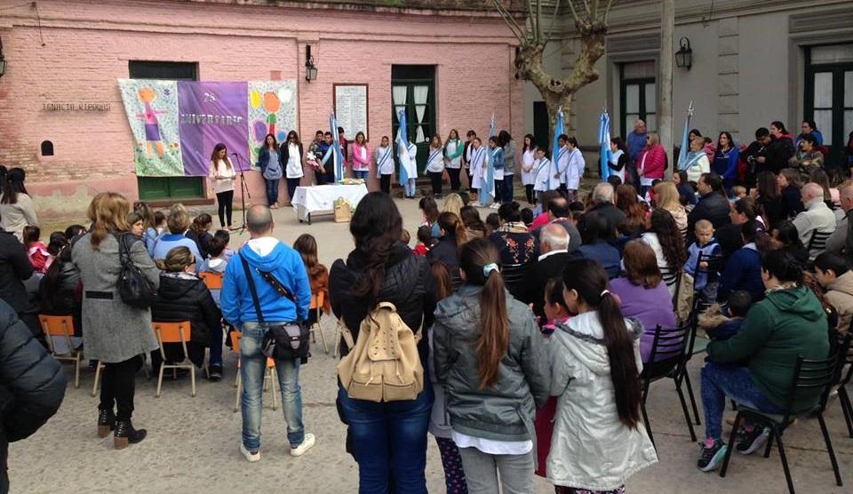 """CNEL VIDAL: El Jardín de infantes N° 907 """"Ignacia Ripodas"""", cumplió un cuarto de siglo"""