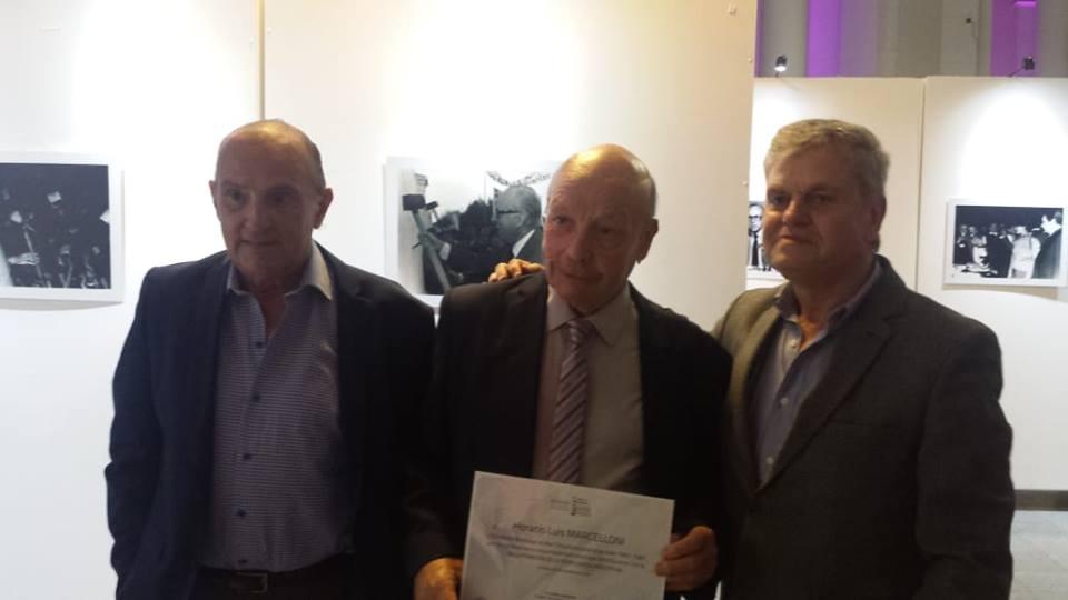 El Senado de la Provincia de Buenos Aires distinguió al ex Intendente Horacio Marcelloni, a 35 años de su elección en el regreso de la democracia