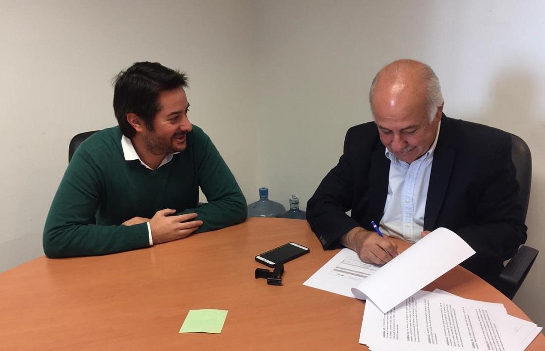 Ronda firmó convenios para el inicio de obras en la costa y el mediterraneo