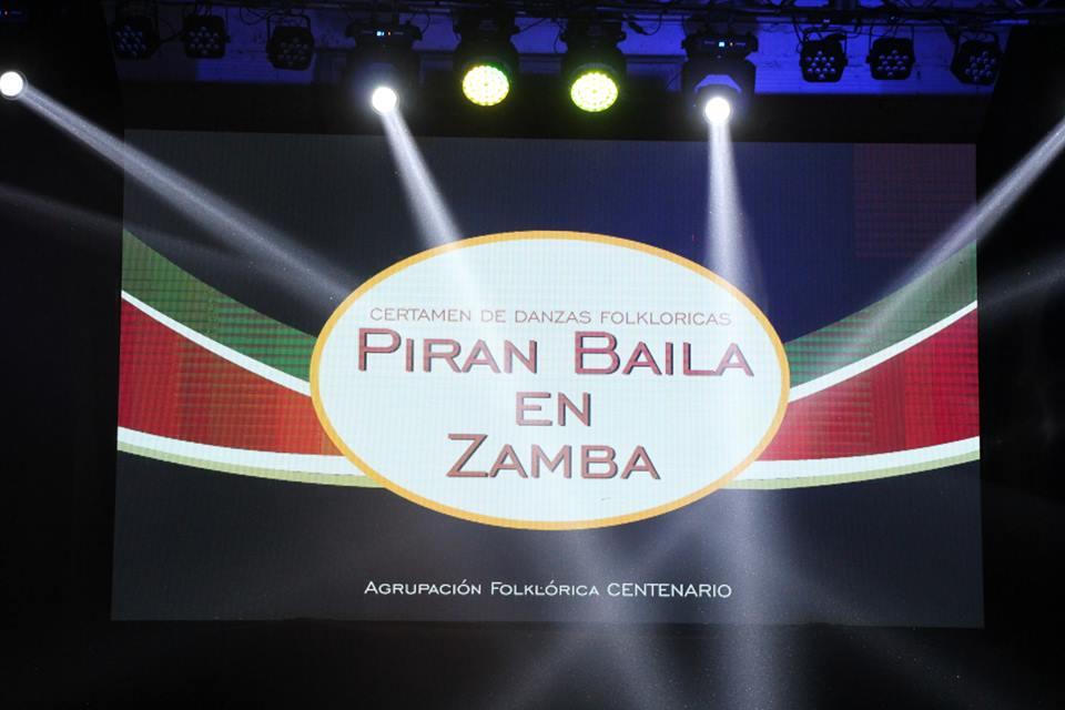 """Se viene una nueva edición del Certamen Nacional de Danzas """"Piran Baila en Zamba"""""""
