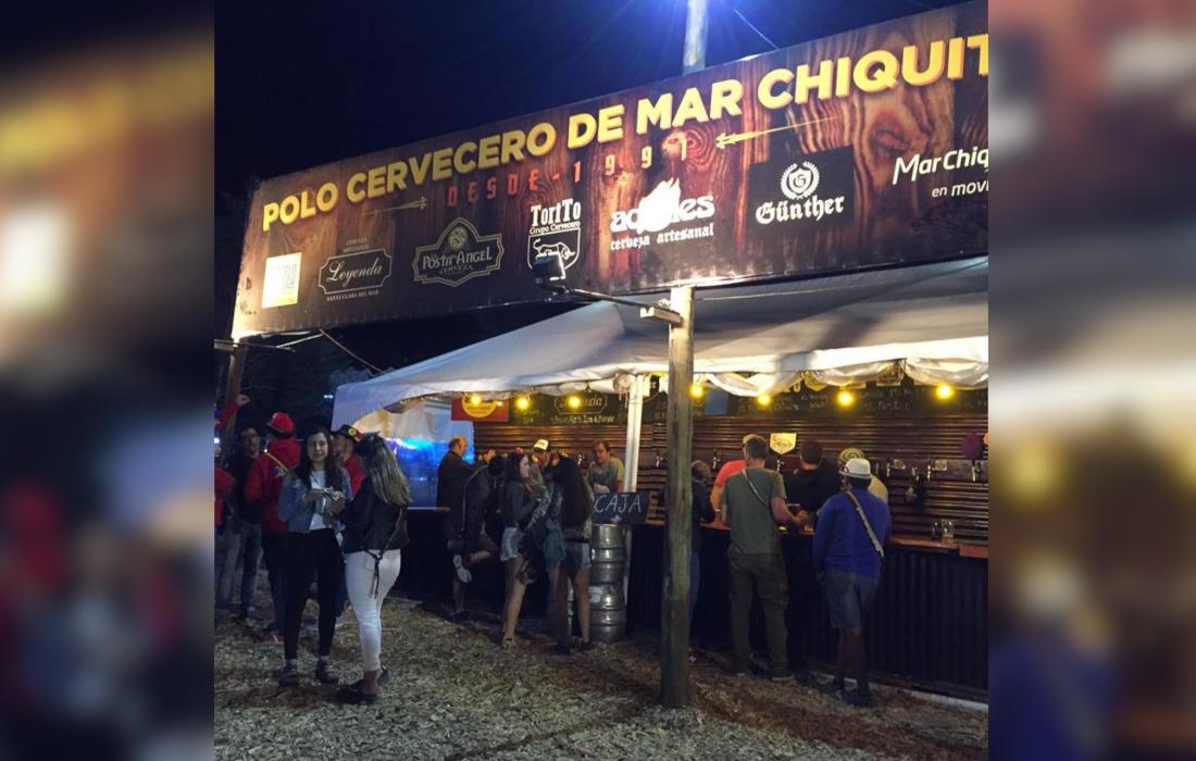 El Polo Cervecero de Mar Chiquita está presente en el OktoberFest de Villa General Belgrano