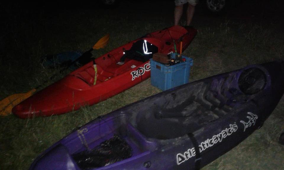 Patrulla Rural y Guardaparques rescataron a dos jóvenes kayakistas perdidos en el Canal 5