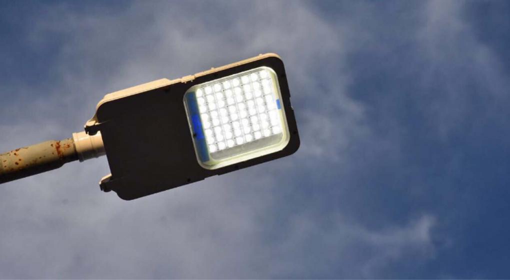 El municipio adquirio por Leasing 352 luminarias LED y 155 columnas nuevas
