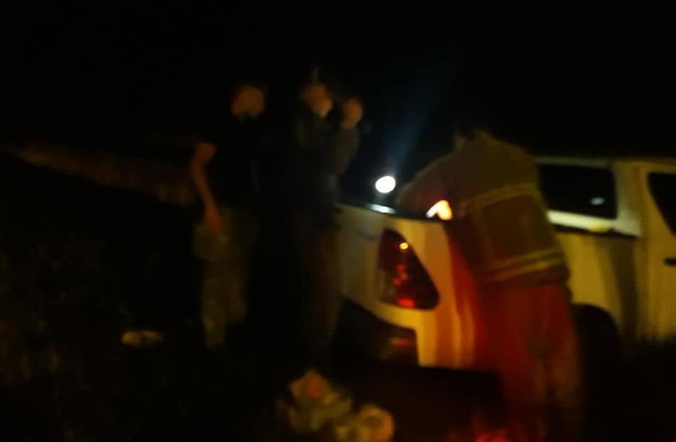 Grave accidente de una camioneta de Coronel Vidal, dejó un muerto y dos heridos en la Autovía 2