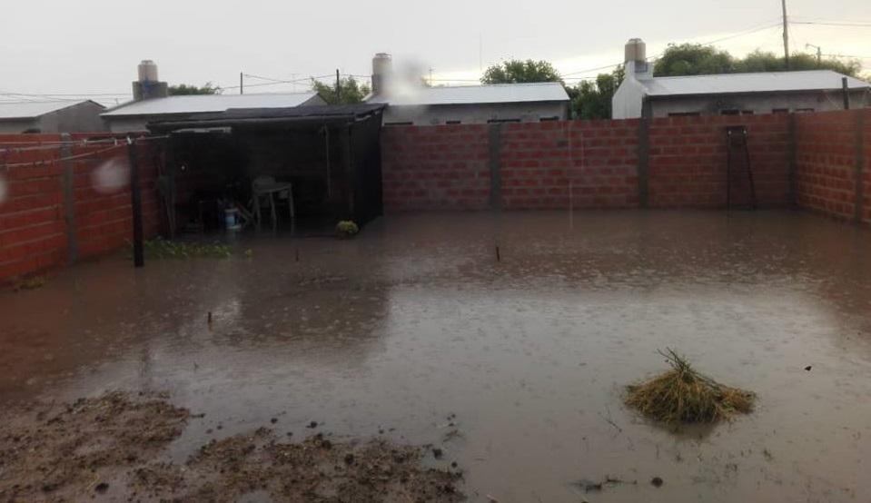 Entre 140 y 180 milímetros de lluvia, generaron complicaciones en distintos sitios de Mar Chiquita