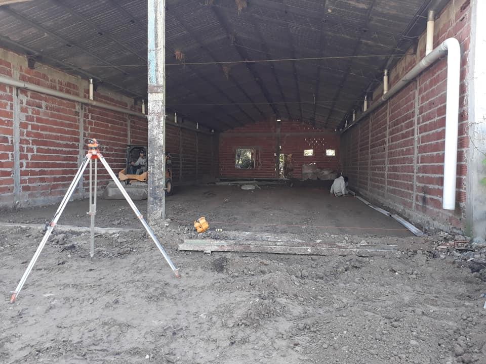 Los Bomberos Voluntarios de Vivoratá retomaron la construcción de su nuevo cuartel