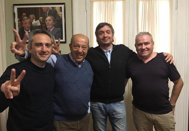 Jorge Paredi se reunió con Máximo Kirchner
