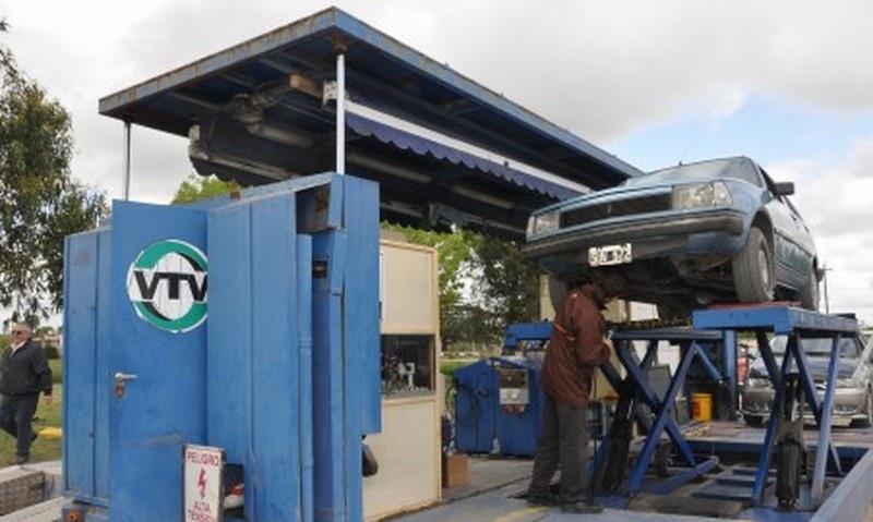 Vuelve la planta movil de Verificacion Tecnica Vehicular a Coronel Vidal