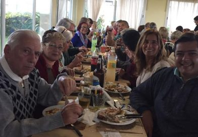 Marcelo Sosa participó del aniversario del Centro de Jubilados Avanzar  en Mar de Cobo