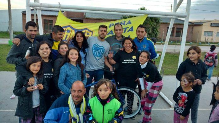 Vecinos de Santa Elena agradecieron públicamente por el evento del  1º de Mayo y contaron lo logrado