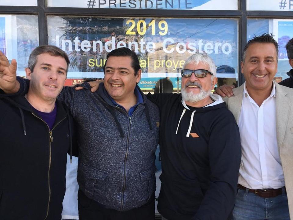 Marcelo Sosa sumó el apoyo de Jorge Pinto, del Frente Renovador, que resignó su candidatura para integrarse al trabajo del pre candidato del Frente con Todos
