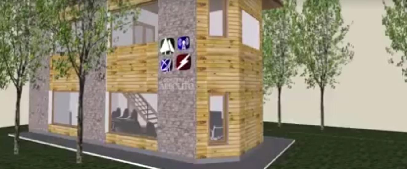 La Cooperativa Arbolito mostró el boceto de lo que serán sus futuras oficinas en Mar de Cobo