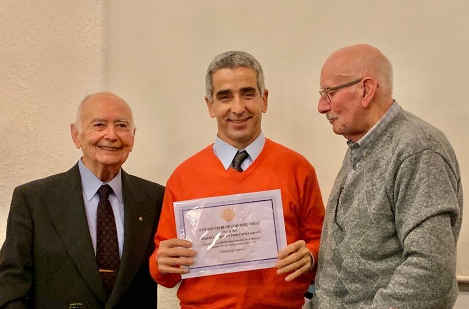 Martin Eguia es el nuevo presidente de Rotary Club de Coronel Vidal