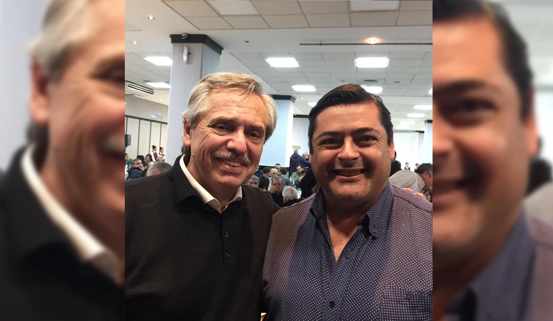 Marcelo Sosa único candidato de Mar Chiquita invitado a la cena con Alberto Fernández y Axel Kicillof