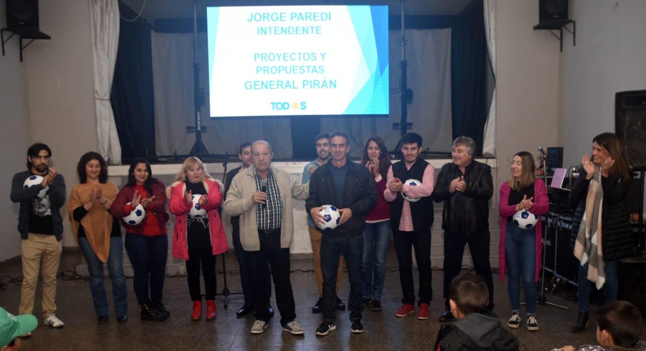 Este sabado, Jorge Paredi presentará sus propuestas para la costa en el Club Santa Clara