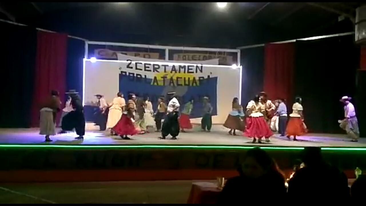 "Después de 10 años, la Agrupacion ""El Potrillo"" volvió a participar de un certamen de folclore"