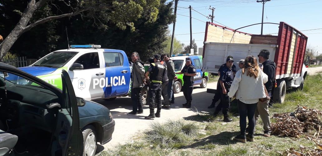 STA CLARA: La policía frustró una presunta usurpación de terreno y demoró a 3 personas
