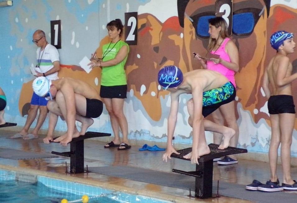 El equipo de natación de Mar Chiquita fue local en la 7ma fecha del Circuito regional