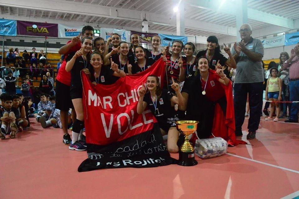 Mar Chiquita Vóley se consagró campeona nacional sub 13 en la categoría femenina