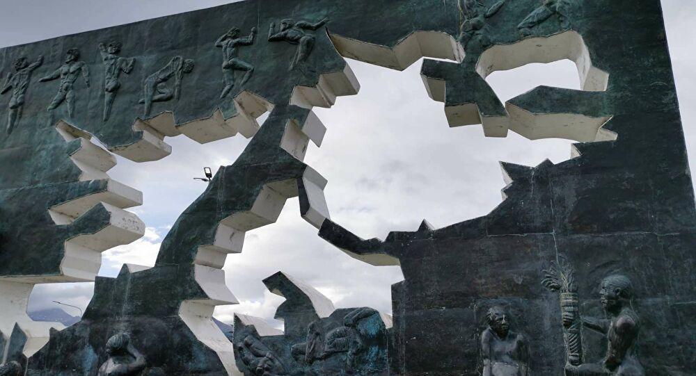 """El confinamiento no fue excusa para """"La Bolgonesa"""", que realizó un homenaje a los caidos en Malvinas: MIRALO ACÁ"""