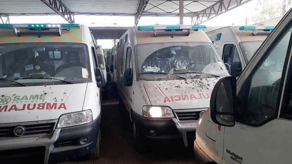 Recuperaron 24 ambulancias «abandonadas» por la gestión de Vidal