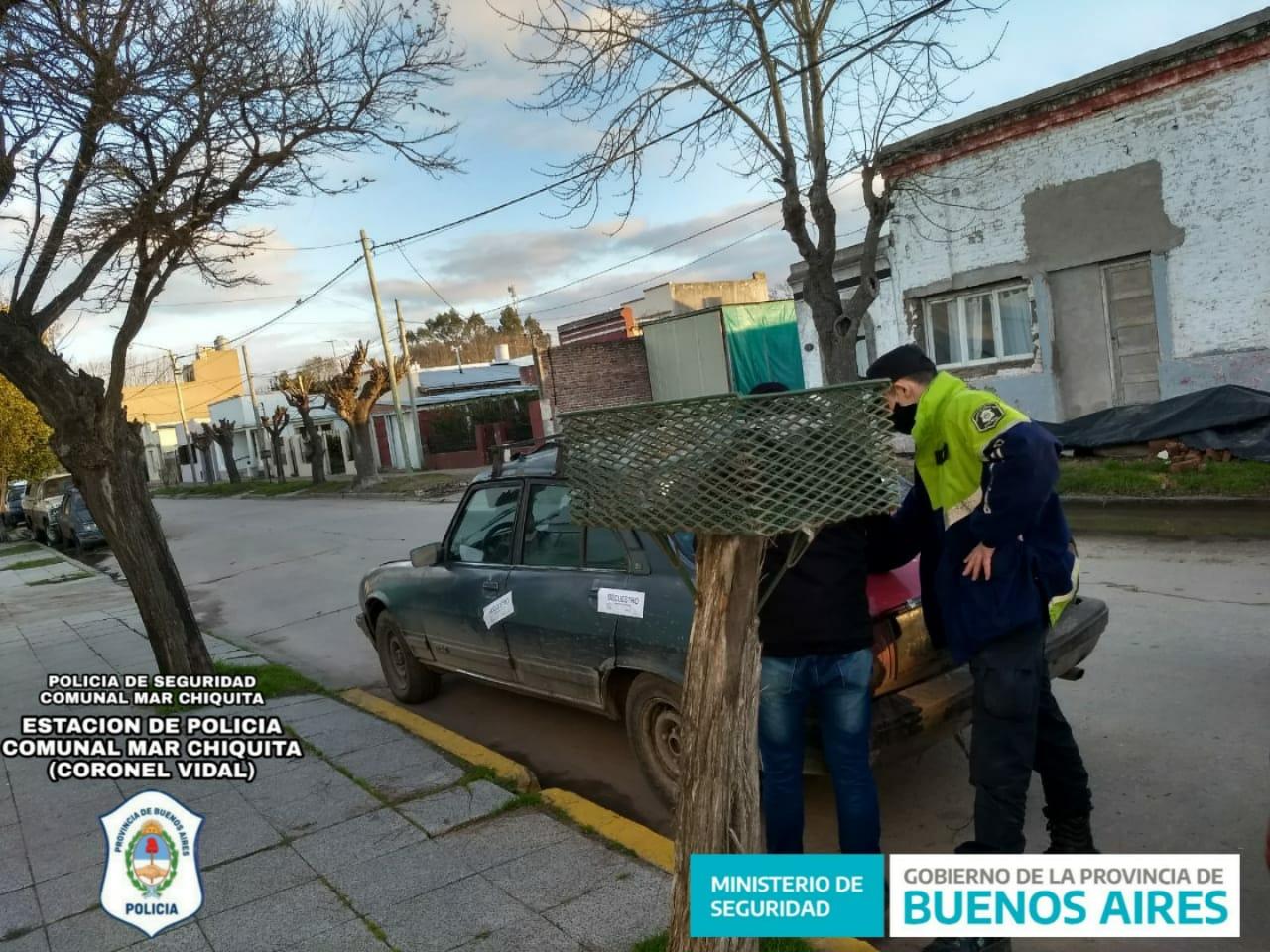CNEL VIDAL: Un sujeto de Mar del Plata quiso ingresar sin documentación en su rodado ni justificación para su traslado