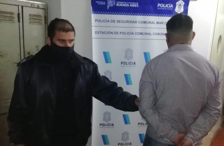 CNEL VIDAL: Entró por una ventana a la casa de su ex y después protagonizó una persecución policial