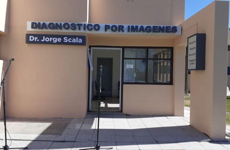 Se puso en valor la Sala de Diagnóstico por Imágenes con la imposición del nombre «Dr. Jorge Scala»