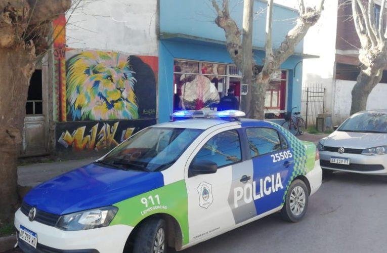 """CNEL VIDAL: La policía desarticuló un """"Asado""""  en un bar popular del pueblo"""