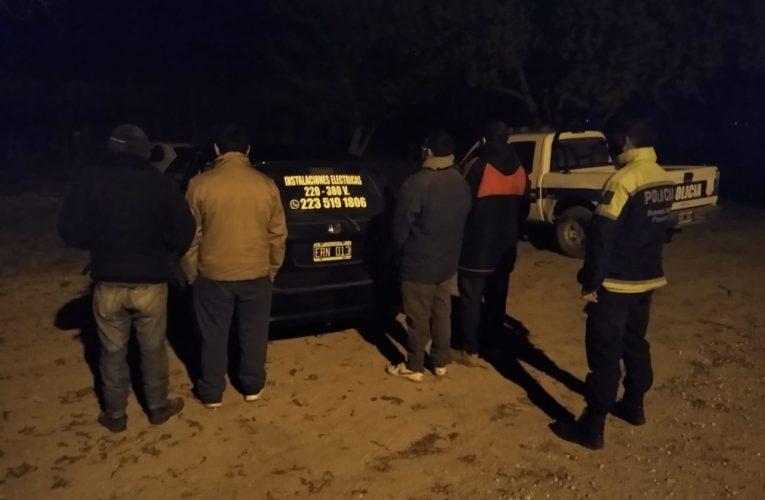 VIVORATÁ: Demoraron a dos sujetos, uno de ellos con pedido de captura por robos calificados