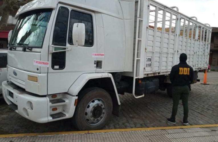 BALCARCE: Secuestraron un camión con numeración adulterada, el chofer es de Coronel Vidal