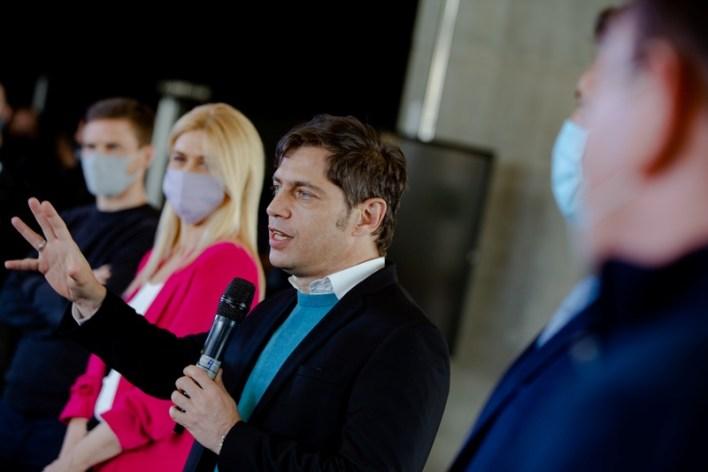 Paredi participó del anuncio de la temporada 2020/2021 con el gobernador Kicillof en Mar del Plata
