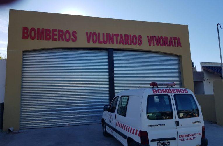 Los Bomberos ultiman detalles para el nuevo cuartel de Vivoratá