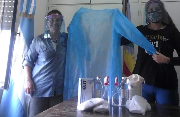 CONSEJO ESCOLAR: Se compraron elementos de higiene y seguridad para los docentes del programa ATR