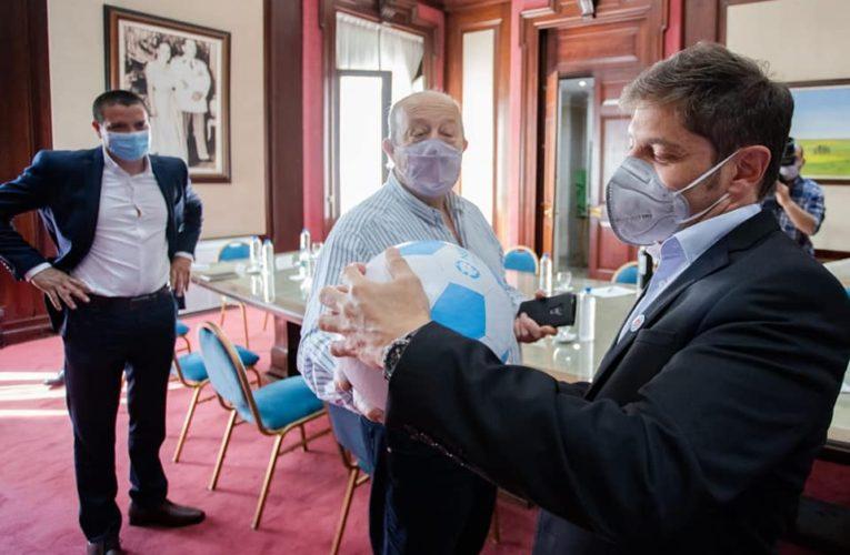 Paredi se reunió con Kicillof en La Plata para delinear el presupuesto 2021 y las futuras obras para el distrito
