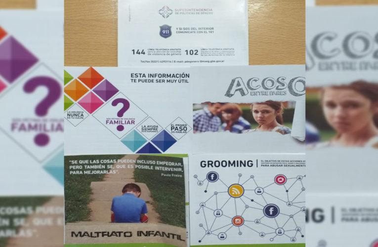 Reunión de la mesa local intersectorial contra la violencia familiar y de género