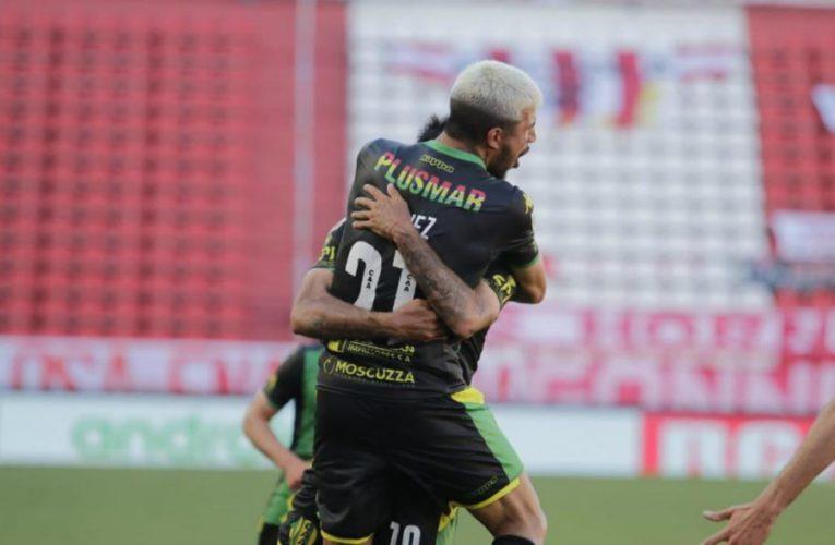Aldosivi le ganó a Estudiantes en La Plata con un gol del piranense Manu Iñiguez