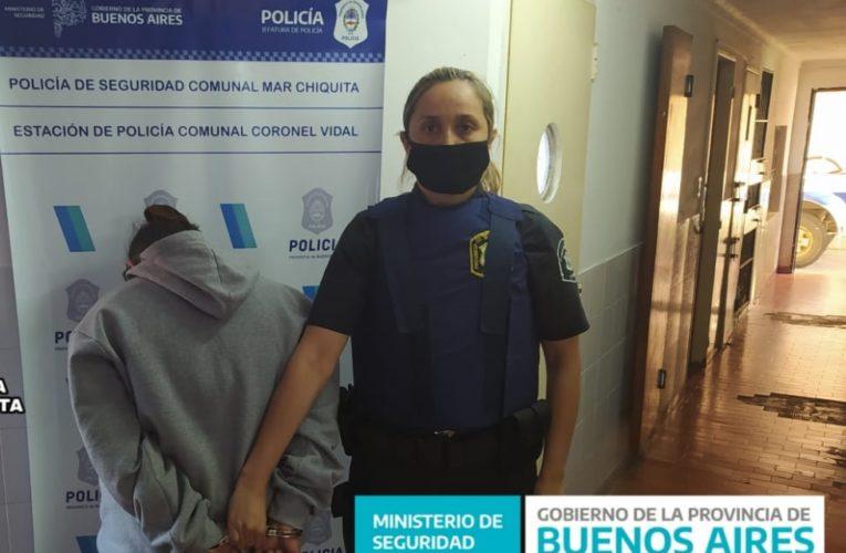 CNEL VIDAL: Una mujer con condena fue detenida y trasladada a Batán para cumplir sentencia firme